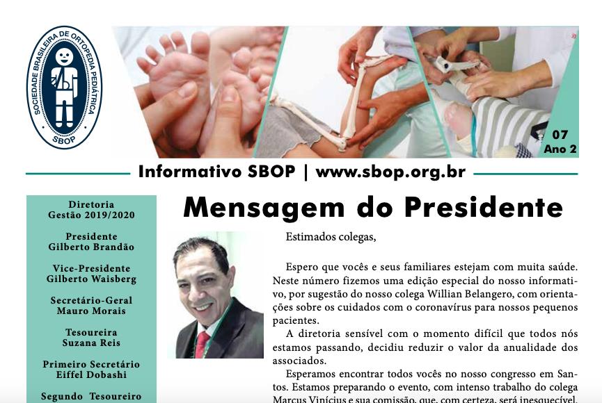 Informativo SBOP - 07