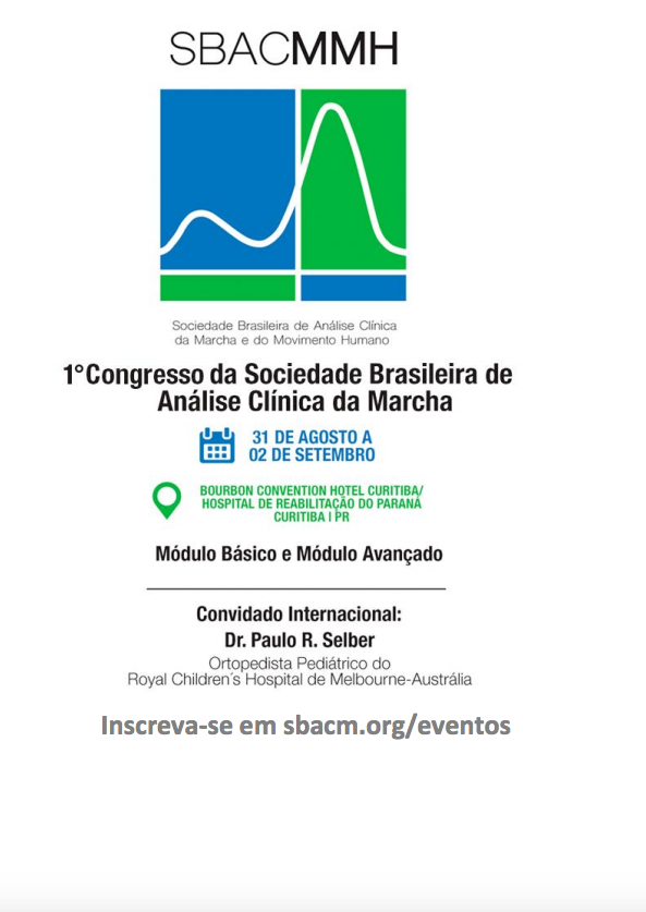 1˚ Congresso da SBACMMH