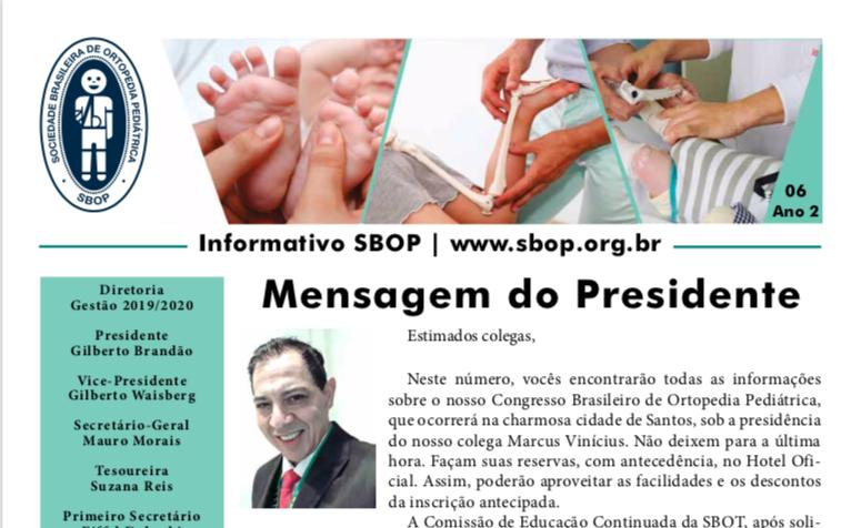 Informativo SBOP - 06